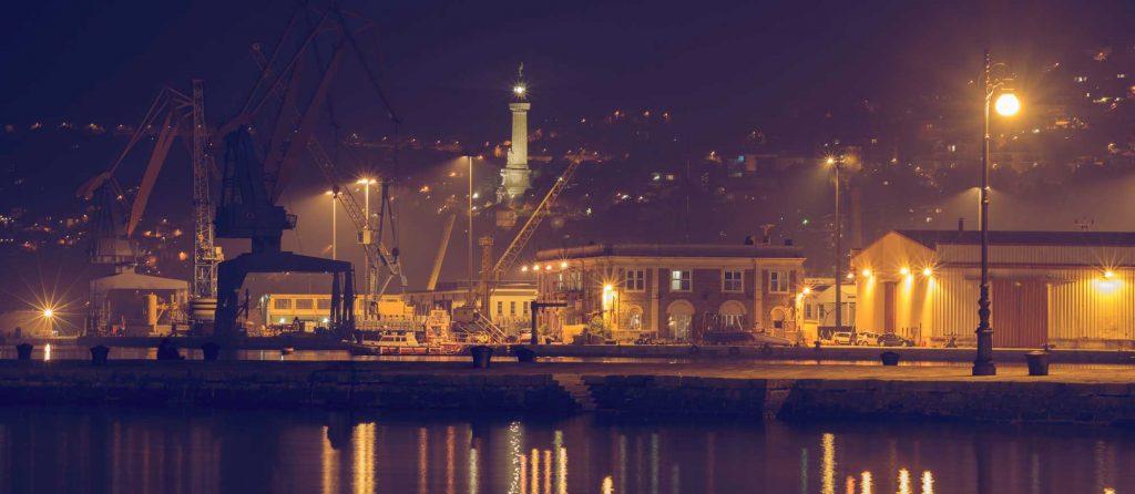 Photo port of Trieste, Italy